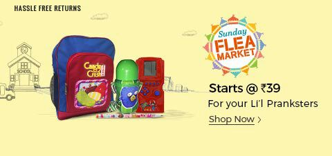 (Ended) ShopClues Sunday Flea Market - Buy Products Starting From Rs.39 Only