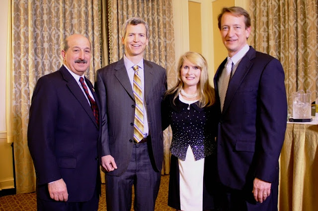 The 2015-2016 CCBA leadership team (from left to right): A. Peter Shahid Jr., Secretary/Treasurer; Brian C. Duffy, President-Elect; Natalie Parker Bluestein, Past-President; and Jim Myrick, President