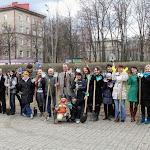 Коллектив театра ФЭСТ высадил аллею искусств
