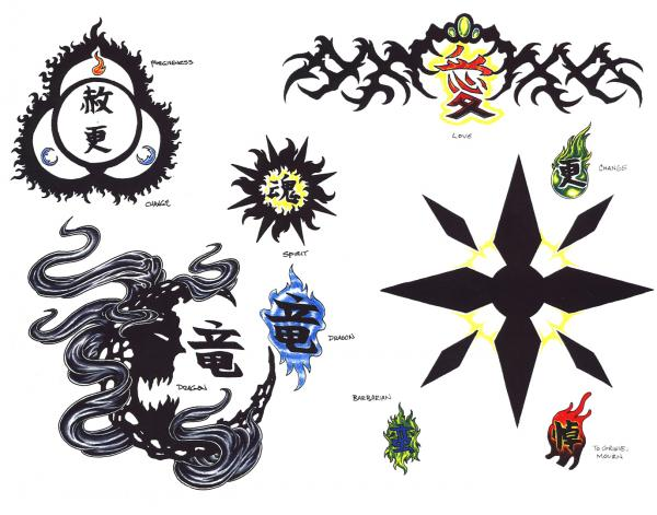 Design Of Silent Tattoo 6, Fantasy Tattoo Designs