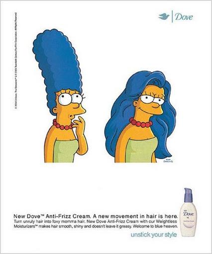 Publicidad creativa DOVE