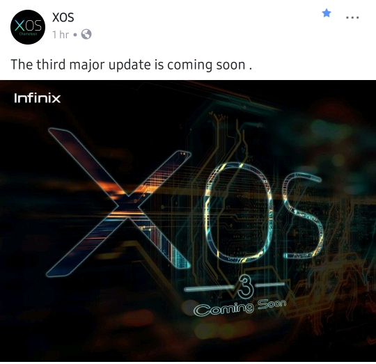 XOS 3.0 IS COMING SOON!: Infinix Third Major Update
