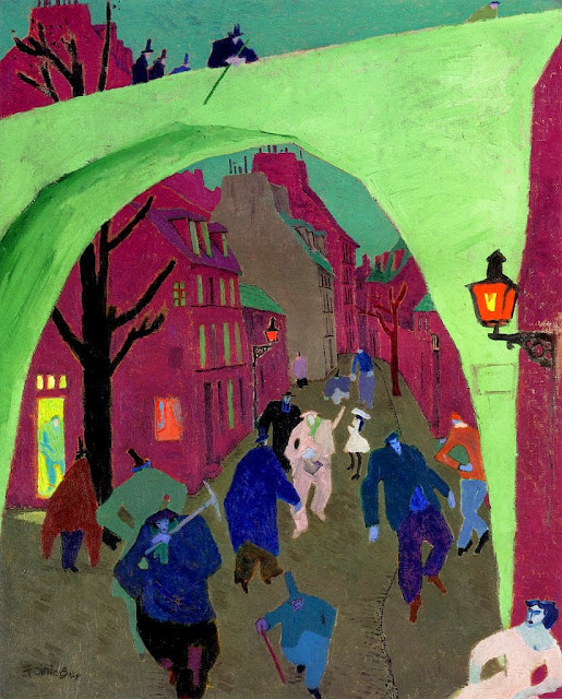 Lyonel Feininger - The Green Bridge II