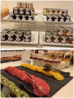 NH Kensington desayuno