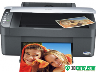 How to Reset Epson CX3800 flashing lights error