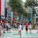 popular Ximending youth fashion district downtown Taipei in Taipei, T'ai-pei county, Taiwan