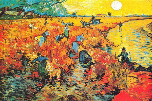 Vincent van Gogh only sold one painting in his lifetime.