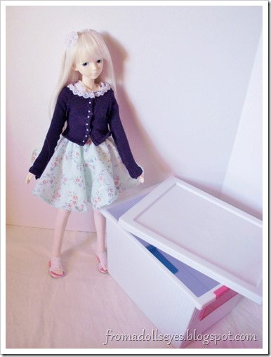 Time to organize doll stuff