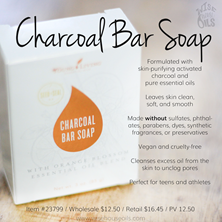 Charcoal Bar SoapConvention 2018 WHO