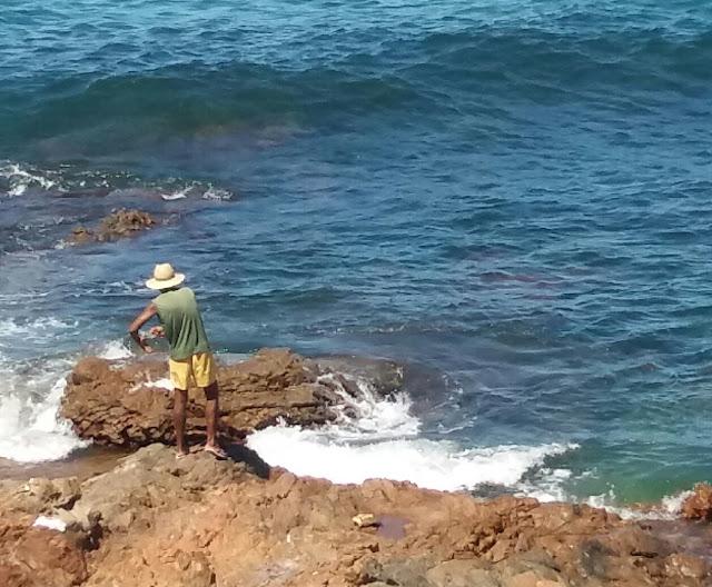 Domingo é dia de pescaria