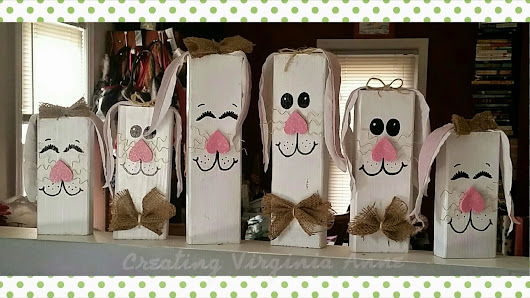 Easter Bunnies - DIY - Upcycle