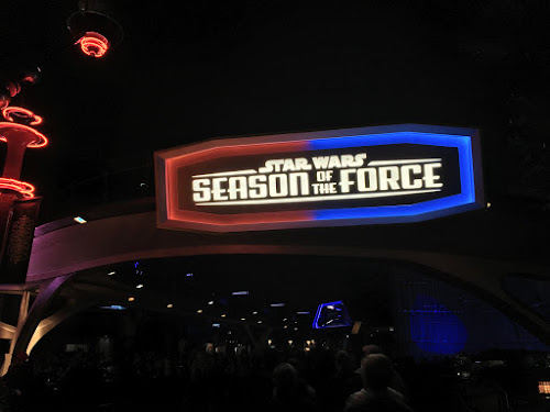 Disneyland season of the force videos photos