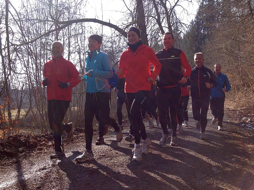 Laufgruppe im Schönbuch Foto 2