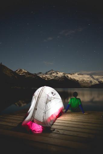 Garibaldi Lake. Photographer Isaac Wray