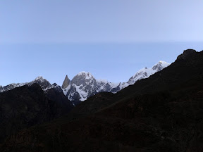 Lady finger & Ultar sar seen from Duikher, Hunza