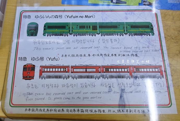 8 【日本九州】JR特急 由布院之森(ゆふいんの森)-優雅復古風觀光列車,九州旅遊必搭~(內含JR九州鐵路周遊券/JR九州Pass分享)