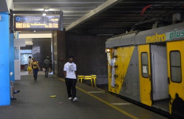 Train to Stellenbosche