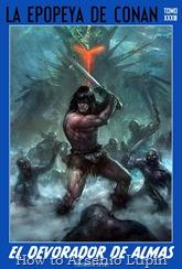 Actualización 28/06/2017: Nexus El Recopilador de Historias comparte con nosotros los tomos 32 y 33 de esta gran recopilación magníficamente editada por el mismo. Mas y mas espadas, brujerías, magias,hechicerías, demonios, y batallas épicas, Conan solo descansara cuando muera , si es que muere alguna vez por la compasión de su Dios burlón CROM quien le reclama mucha mas sangre.