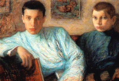 Leonid Pasternak - Sons, Boris and Alexander