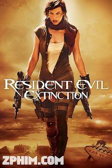 Vùng Đất Quỷ Dữ 3: Tuyệt Diệt - Resident Evil: Extinction (2007) Poster