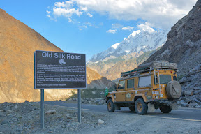 On the mighty Karakorum Highway