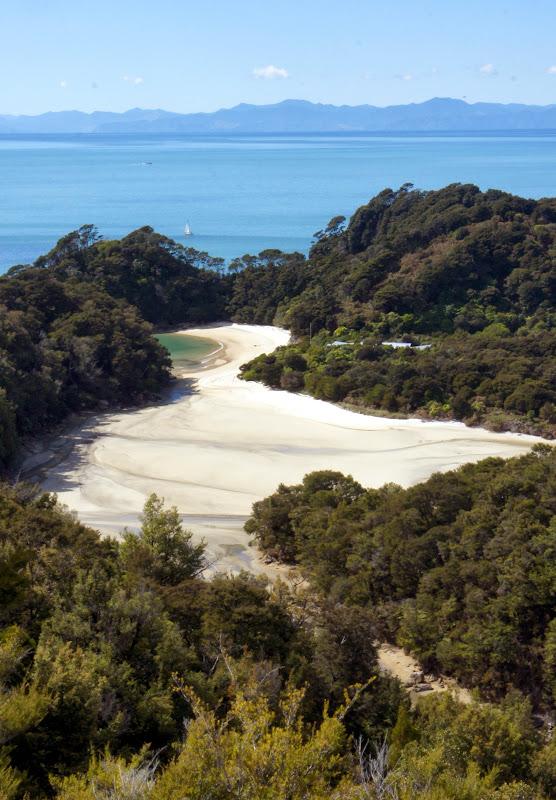 Sandbuchten bei Niedrigwasser