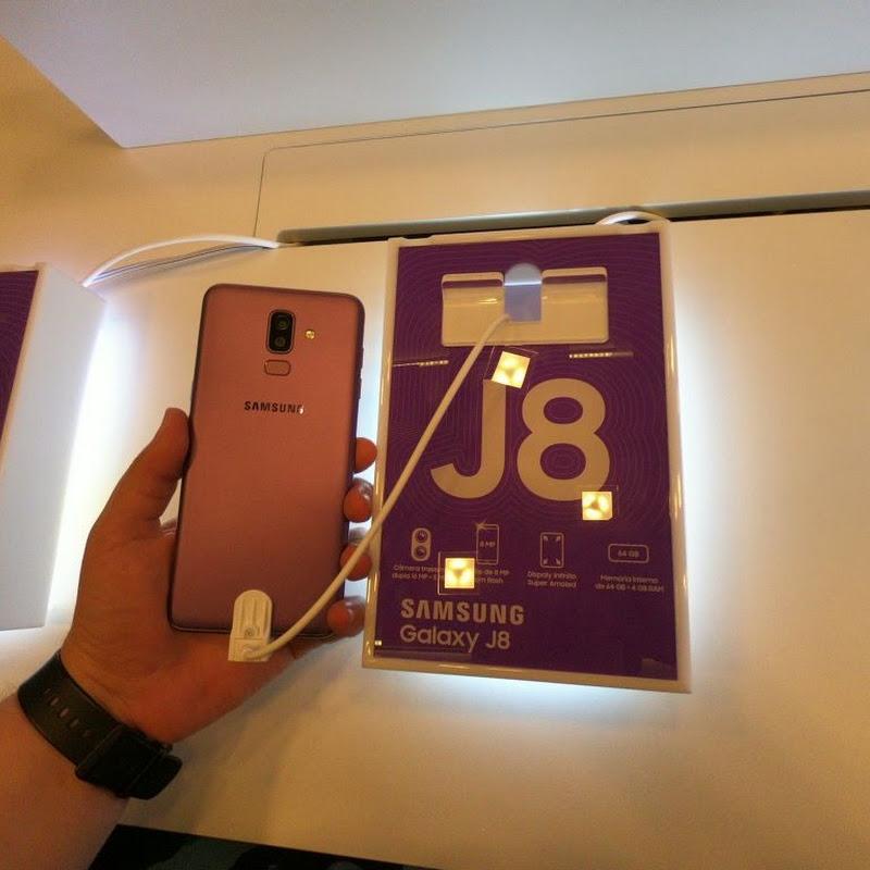 Samsung apresenta novos Galaxy J6 e J8 no Brasil