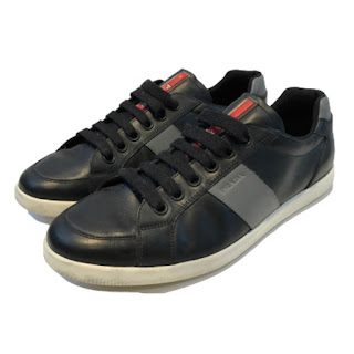Prada Sport Leather Sneakers