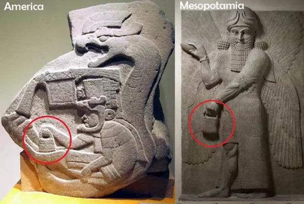 Anunnaki, a misteriosa bolsa dos Deuses é vista em várias culturas na América e Göbekli Tepe. Coincidência