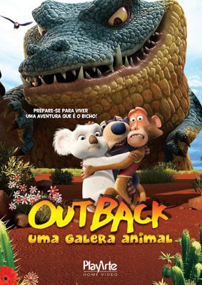 Outback Uma Galera Animal (Dual Audio) DVDRip XviD