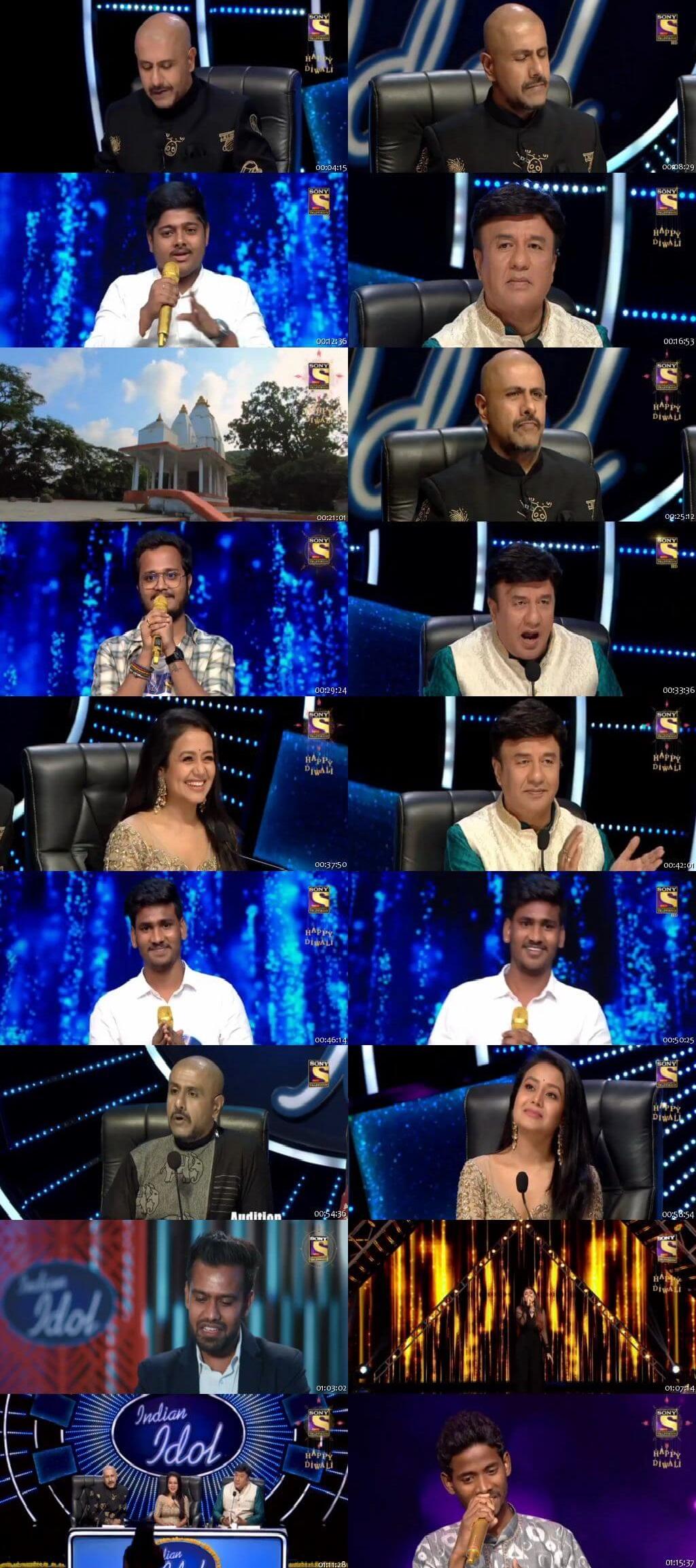Screenshots Of Hindi Show Indian Idol 26th October 2019 Episode 05 300MB 480P HD