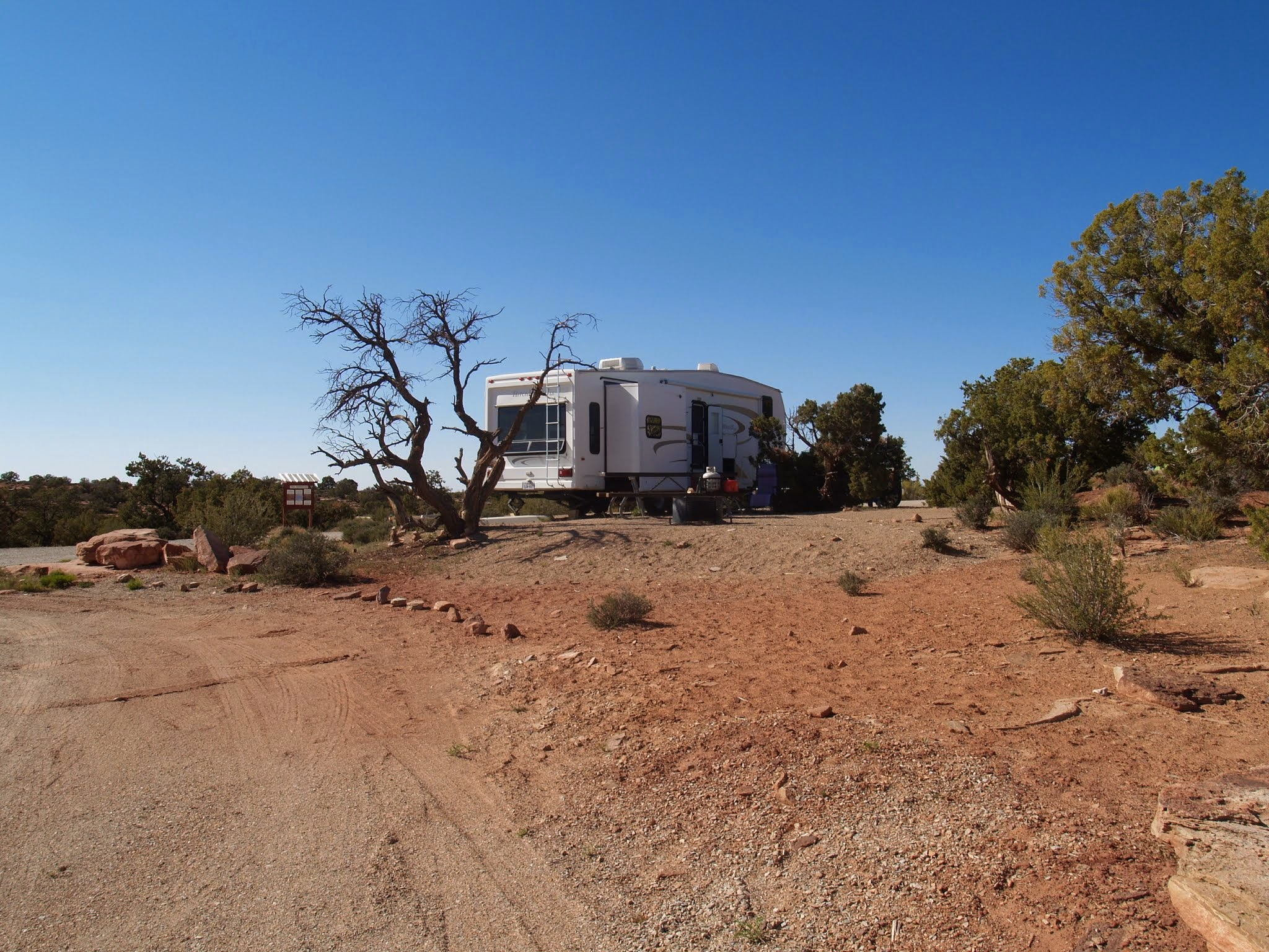 Rv Park Review Horsethief Campground Moab Ut Here