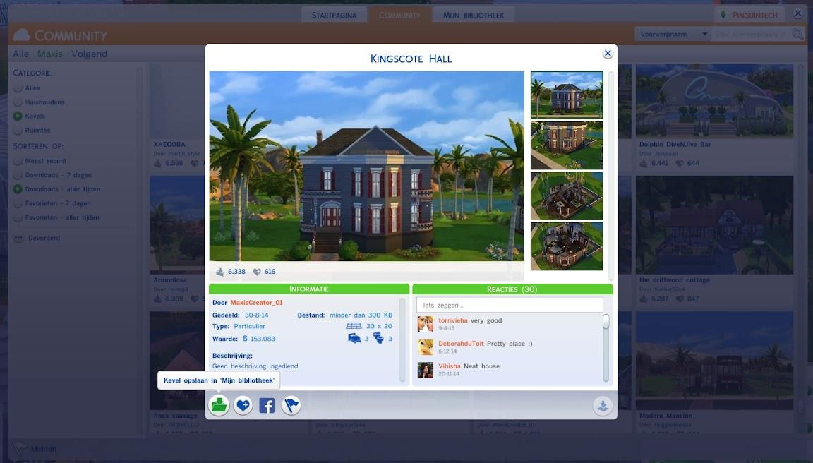 De Sims 4 Galerij
