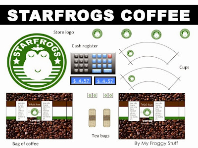 My Froggy Stuff How To Make A Doll Coffee Shop