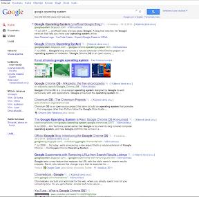 Design der Suchergebnisse Juni 2011