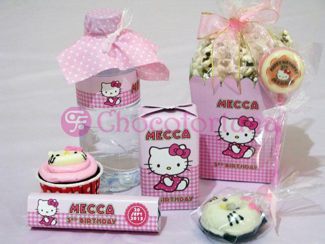 Goodie Bag Mecca Hello Kitty Ultah Birthday Ulangtahun Ulang Tahun