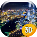 Dubai City Lights Live Wallpap icon