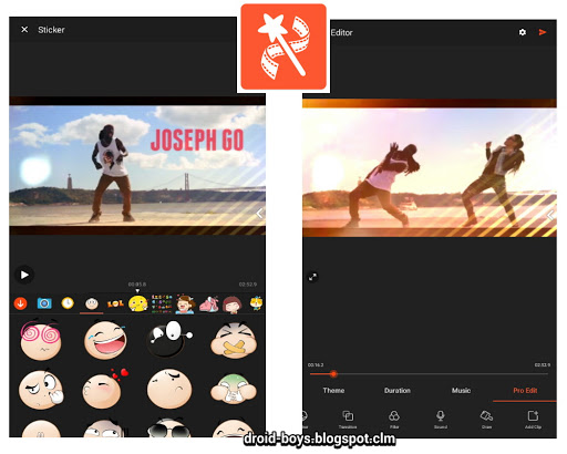 Updata Videoshow Pro Video Editor V720 Apk Droid Boys
