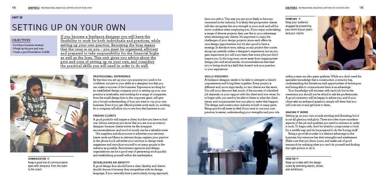 interior design course principles practices and techniques for the aspiring designer