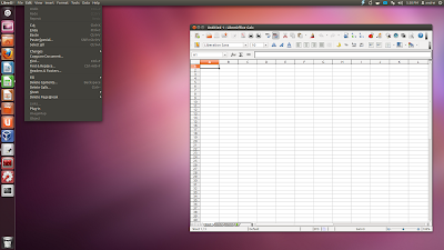 Global menu libreoffice