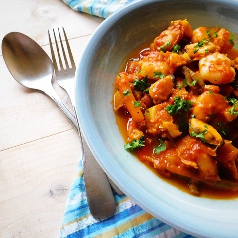 Cod prawn and mussel bouillabaisse french fish stew for French fish stew
