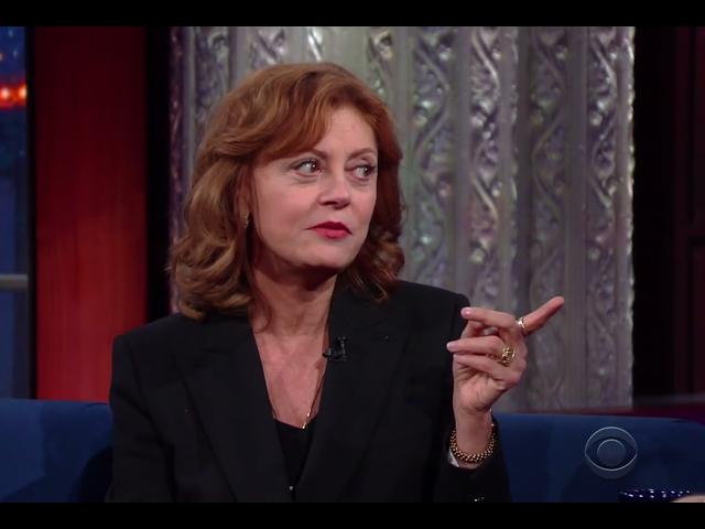 Actress Susan Sarandon explains 'break-up' with Clinton