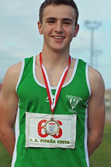 Dos Alumnos Campeones de Cantabria de Atletismo