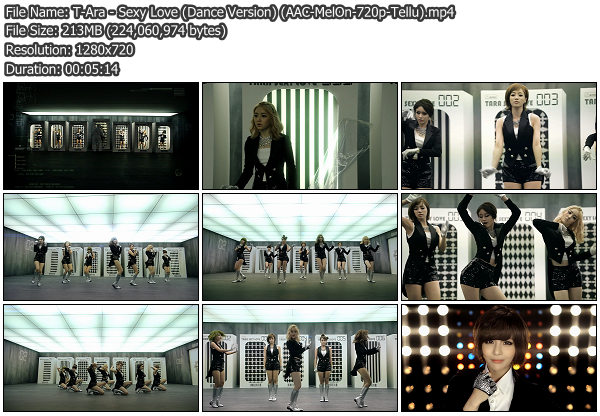 [MV] T Ara   Sexy Love (Dance Ver.) (MelOn HD 1080p)
