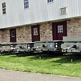 Millcreek offers eight models of stainless steel manure spreaders to choose from.