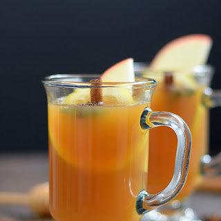 Hot Spiced Cider Toddy