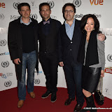 OIC - ENTSIMAGES.COM - Tom Chambers, Stefan Booth, Howard Webster and Mrs Webster at the  Meet Pursuit Delange Premier at the 23rd Raindance Festival London UK 1st October 2015 Photo Mobis Photos/OIC 0203 174 1069