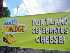 The Wedge Portland Celebrates Cheese banner 2011