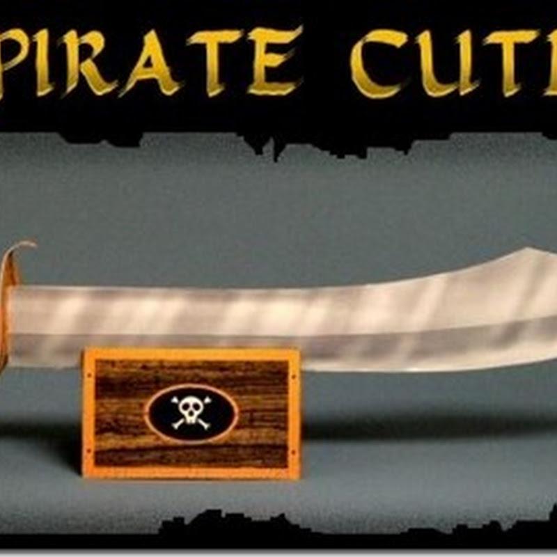 Espada pirata  de cartón pdf gratis