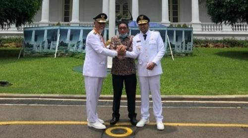 Wawako Hendri Septa Mendukung Program 100 Hari Gubernur Mahyeldi.